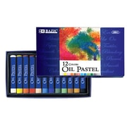 Bazic 12 Color Oil Pastels; Case of 144