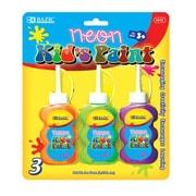 Bazic Neon Color Paint (Set of 3); Case of 24