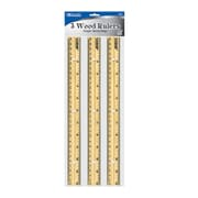 Bazic Wooden Ruler (Set of 3); Case of 144