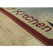 Rugnur Cucina I Love My and Utensils Mat; 1'6'' x 2'7''