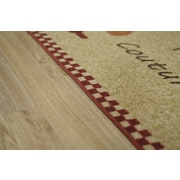 Rugnur Cucina Kitchen Couture Mat; 1'6'' x 2'7''
