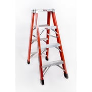 Michigan Ladder 4 ft Fiberglass Step Ladder w/ 375 lb. Load Capacity