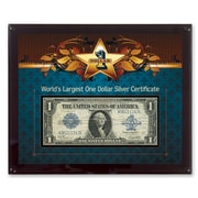 American Coin Treasure World's Largest Silver Certificate Currency Wall Framed Memorabilia