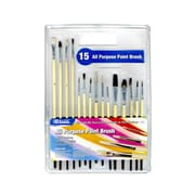 Bazic Assorted Size Paint Brushes (Set of 15); Case of 12