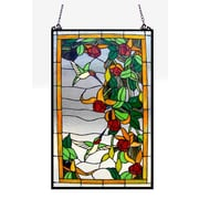 Chloe Lighting Lorelei Glee Hanging Window Panel