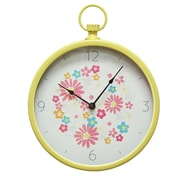 Stratton Home Decor 12'' Retro Wall Clock
