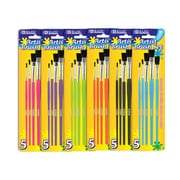 Bazic Paint Brushes (Set of 5); Case of 144