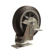 Snap-Loc Flat Free Tire Caster All-Terrain Swivel With Brake
