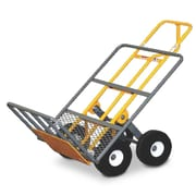 Snap-Loc 51'' x 24'' x 30'' Heavy Duty Hand Cart With 4 All-Terrrain Airless Wheel