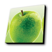 Lamp-In-A-Box Green Apples Photographic Print Plaque
