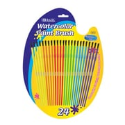 Bazic Kid's Water Color Paint Brushes (Set of 24); Case of 144