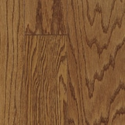 Armstrong Fifth Avenue Plank Mixed Width Engineered Red Oak Flooring in Sable