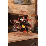 Cape Craftsmen Rustic Star 5 Bottle Wine Rack