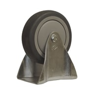 Snap-Loc TPR Solid Wheel Fixed Caster