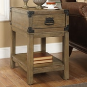Coast to Coast Imports 1 Drawer Chairside Table