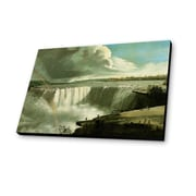 Lamp-In-A-Box Niagara Falls from Table Rock 1801 by John Vanderlyn Painting Print Plaque