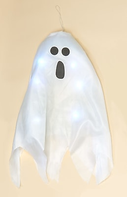 Worth Imports Hanging Ghost w/ LED Lights; 28'' H x 17'' W x 3'' D WYF078277875226