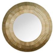 Stratton Home Decor Layered Mirror; Champagne Glossy