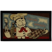 Rugnur Cucina Cookie Chef Mat; 1'6'' x 2'7''