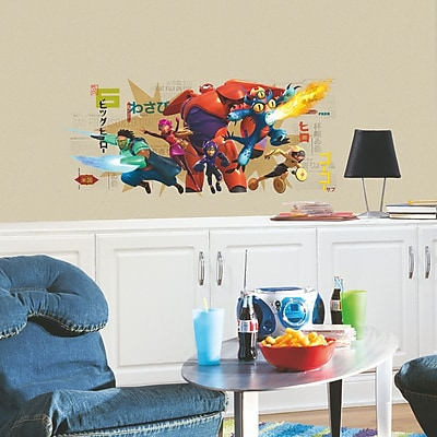 Room Mates Popular Characters Big Hero 6 Wall Decal WYF078277421119