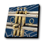 Lamp-In-A-Box Trumpet Graphic Art