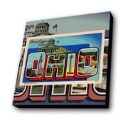 Lamp-In-A-Box Greetings from Ohio Painting Print