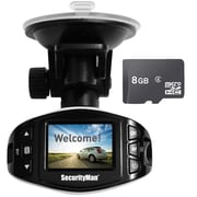 SecurityMan Mini HD Dash Cam and 8GB Micro SD Card