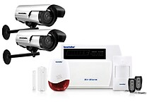 SecurityMan Wireless Home Alarm and Dummy Cams