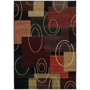 United Weavers of America Contours Multi-Colored Rug; 1'10'' x 3'