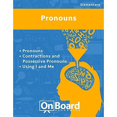 eBook: Pronouns for Elementary Students , 3 Topics (PDF version, 1-User Download), ISBN 9781630960339