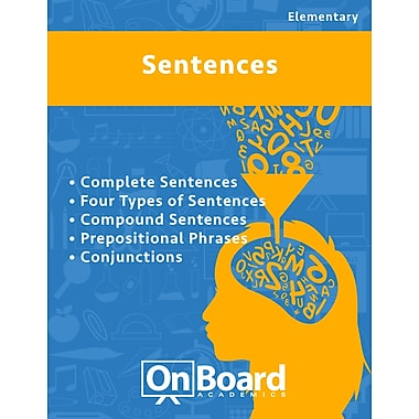 eBook: Sentences for Elementary Students , 5 Topics (PDF version, 1-User Download), ISBN 9781630960384