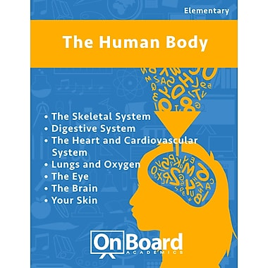 eBook: The Human Body for Elementary Students , 7 Topics (PDF version, 1-User Download), ISBN 9781630960476