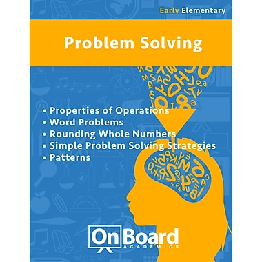 eBook: Problem Solving for Early Elementary Students, Grades K-3 , 5 Topics (PDF version)