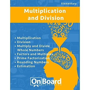 eBook: Multiplication and Division for Elementary Students, Grades 4-6 , 7 Topics (PDF version)
