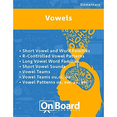 eBook: Vowels for Elementary Students , 7 Topics, (PDF version, 1-User Download), ISBN 9781630960278