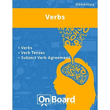 eBook: Verbs for Elementary Students , 3 Topics (PDF version, 1-User Download), ISBN 9781630960315