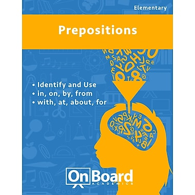 eBook: Prepositions for Elementary Students , 2 Topics (PDF version, 1-User Download), ISBN 9781630960346
