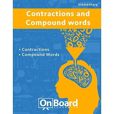 eBook: Contractions & Compound Words for Elementary Students , 2 Topics (PDF version)
