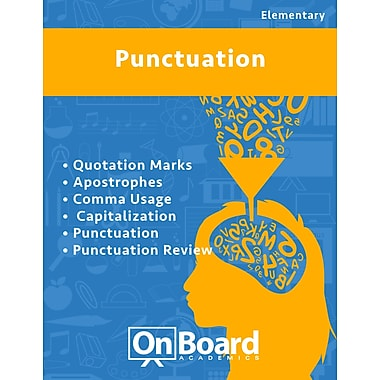 eBook: Punctuation for Elementary Students , 6 Topics (PDF version, 1-User Download), ISBN 9781630960391
