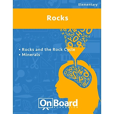 eBook: Rocks for Elementary Students , 2 Topics (PDF version, 1-User Download), ISBN 9781630960483