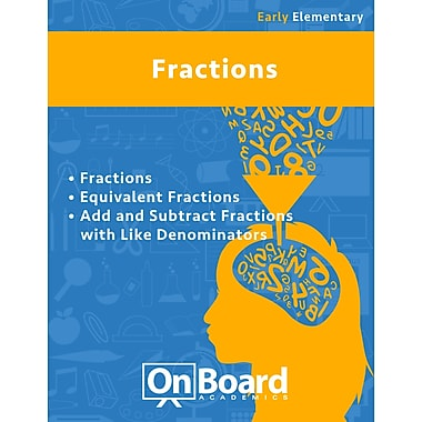 eBook: Fractions for Early Elementary Students, Grades K-3 , 3 Topics (PDF version, 1-User Download), ISBN 9781630960681