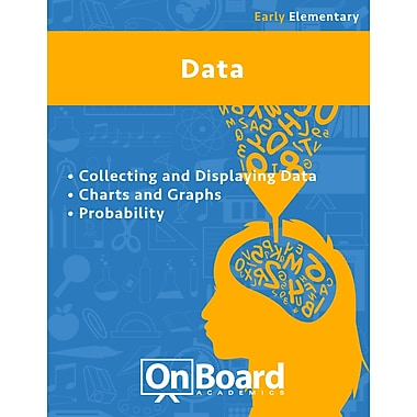 eBook: Data for Early Elementary Students, Grades K-3 , 3 Topics (PDF version, 1-User Download), ISBN 9781630960735