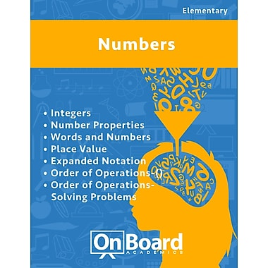 eBook: Numbers for Elementary Students, Grades 4-6 , 7 Topics (PDF version, 1-User Download), ISBN 9781630960759