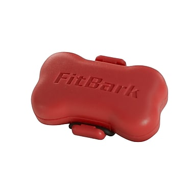 FitBark Wireless Dog Activity Monitor, True Red