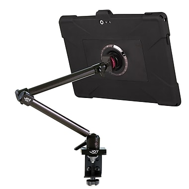 Joy Factory MWM103 MagConnect Carbon Fiber Clamp Mount w/Detachable aXtion Edge M Rugged Slim Silicon Case for Surface Pro 3
