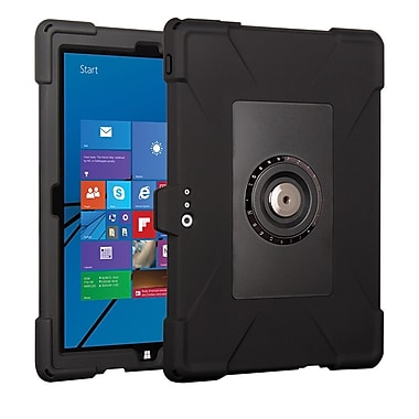 Joy Factory CWM100 aXtion Edge M, Rugged Slim Silicon Case, MagConnect Mount Compatible for Surface Pro 3