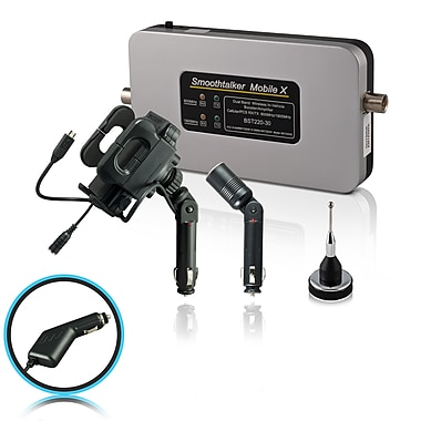 Smoothtalker #BT30MUPA Mobile X-30db Cellular Signal Booster Kit with Universal Cradle, 2