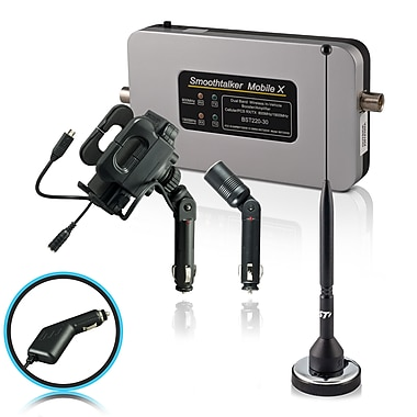 Smoothtalker #BT30M11UPA Mobile X-30db Cellular Signal Booster Kit with Universal Cradle, 11