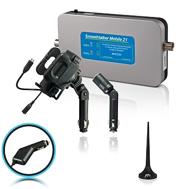 Smoothtalker #BMCZ50MinPC Mobile Z1-50db Wireless Vehicle Cellular Signal Booster Kit, Mini Magnetic Antenna