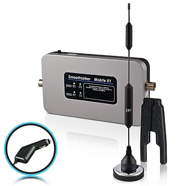 Smoothtalker #BMC50M14PC Mobile X1-50db Wireless Vehicle Cellular Signal Booster Kit, 14